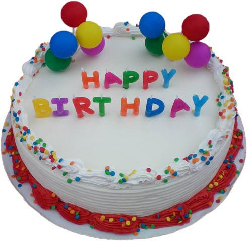 happy birthday cake 16. Size 10quot;: 12 - 16 servings